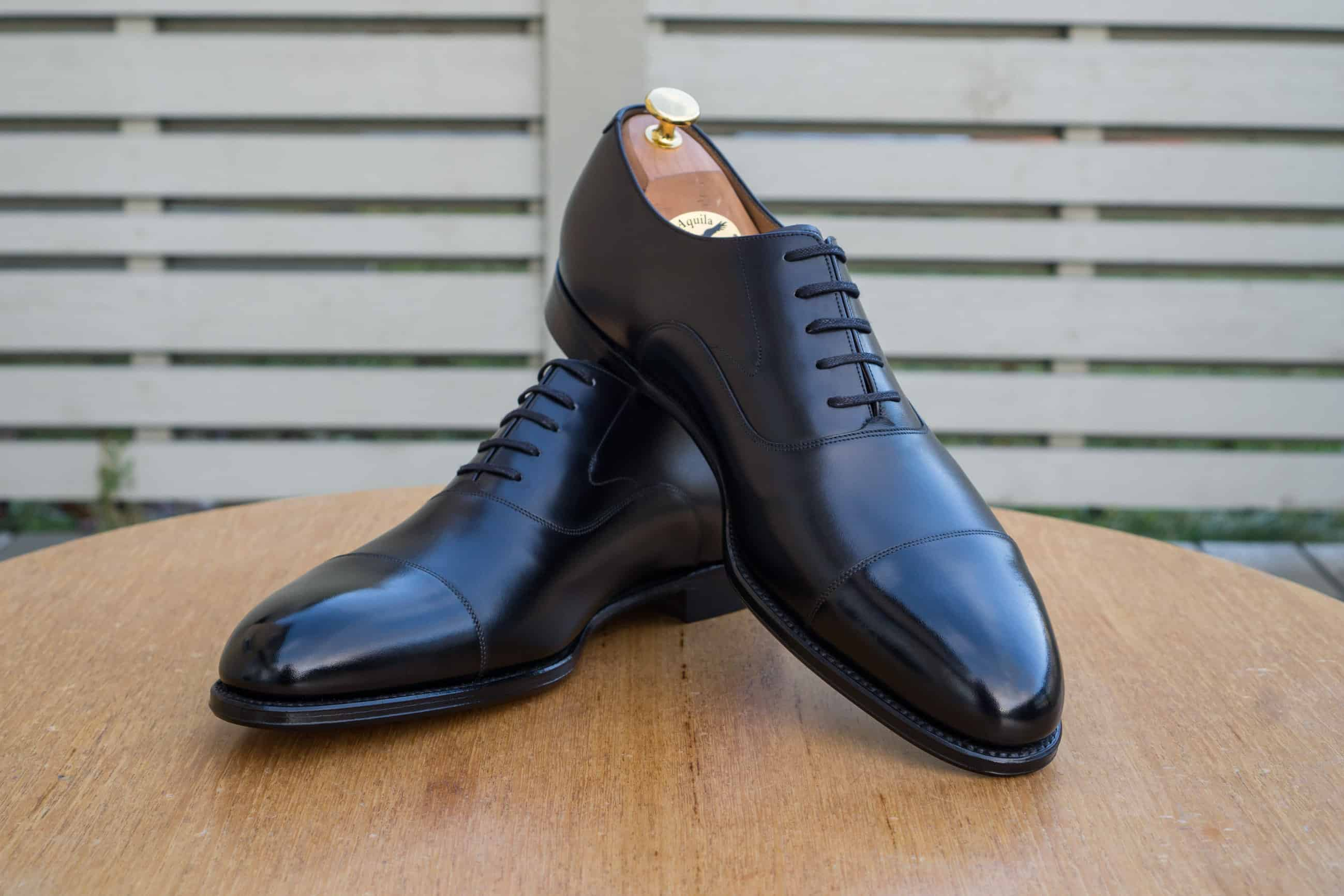 new arrival 05ef2 5ce6c Review – Loake 1880 Export Grade Hanover Onyx Black ...