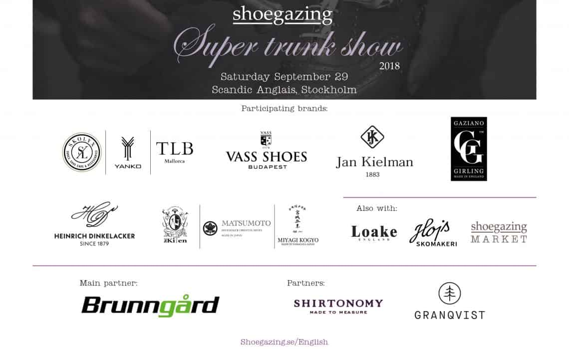 5c0086de97e Shoegazing Super Trunk Show 2018 – Shoegazing English