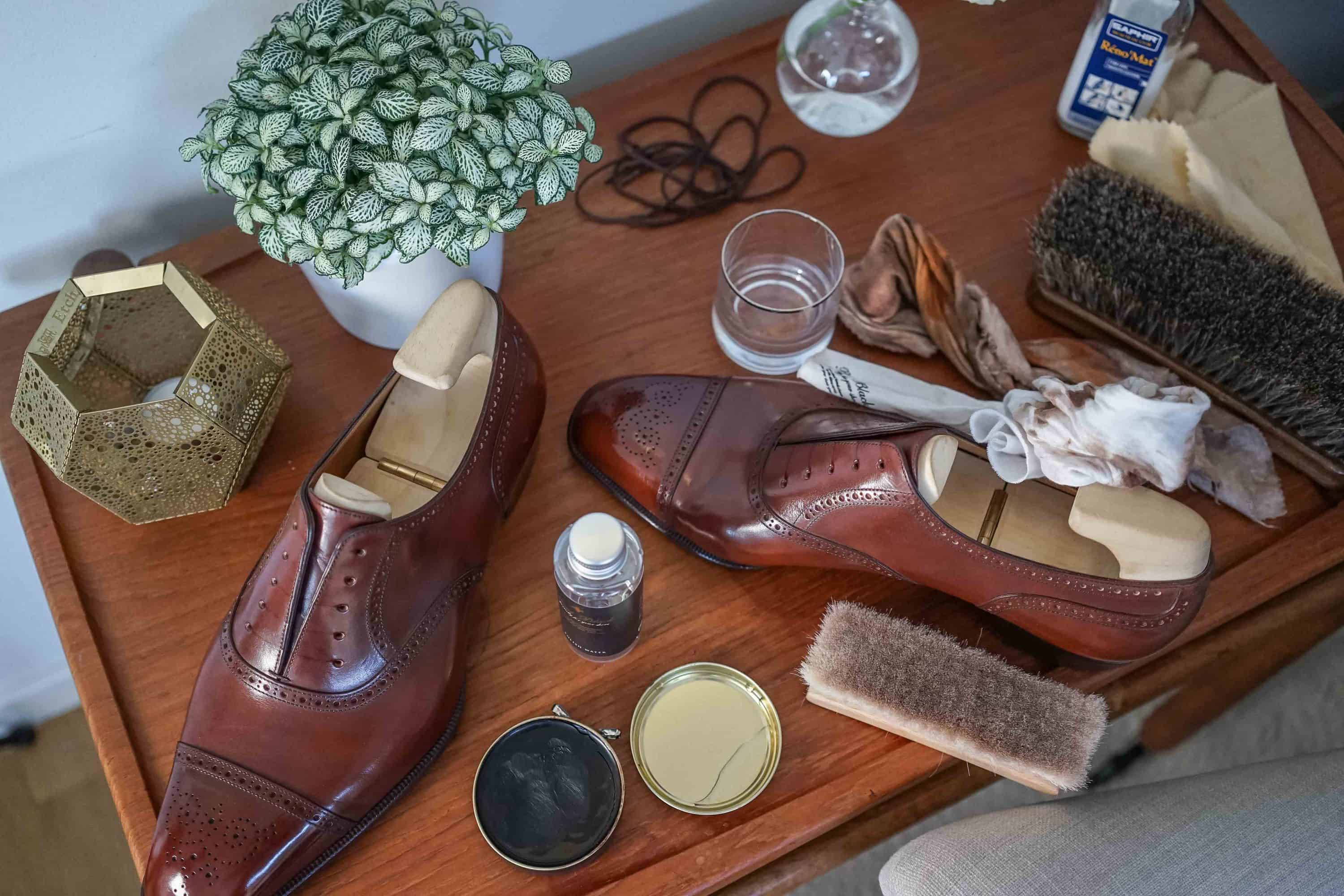 a25db4d5624 Shoe care and shoe polishing – The complete guide – Shoegazing English