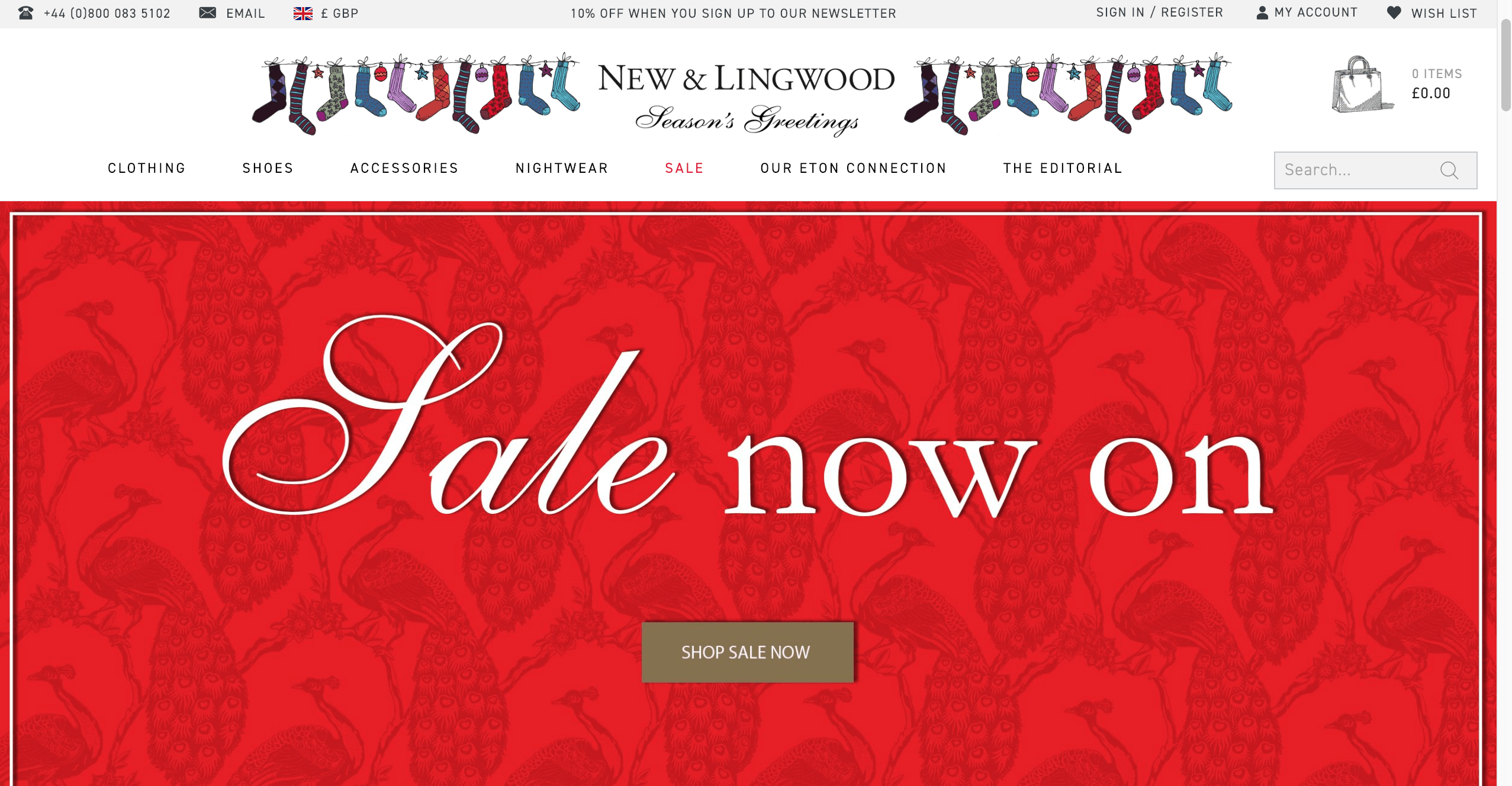 Jermyn Street-based New   Lingwood (the top picture comes from them) always  has good sales 3ea16342c61